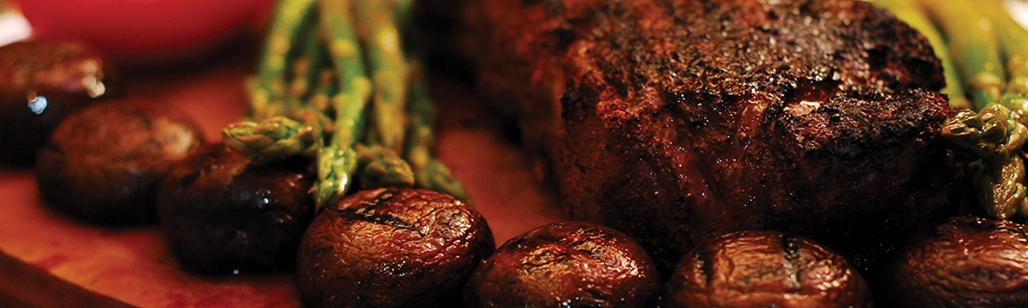 El Gaucho, an award-winning steakhouse and cigar room in downtown Portland, located directly adjacent to The Benson Hotel.