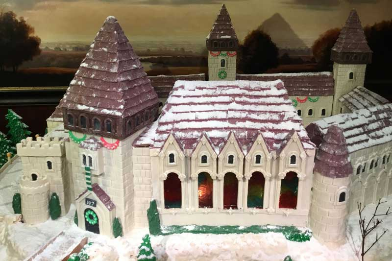 The Benson gingerbread house.