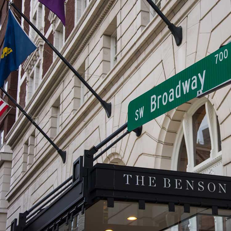 The Benson Hotel Portland Oregon
