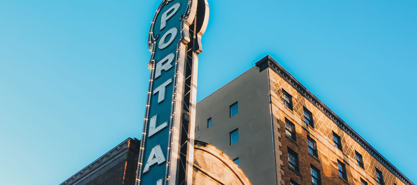 The historic Benson Hotel in downtown Portland Oregon