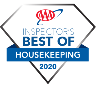 AAA 'Best of Housekeeping' property for 2020.
